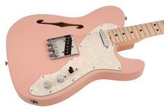 Fender Electric Guitar Custom Shop 1969 Telecaster Thinline Shell Pink | Rainbow Guitars
