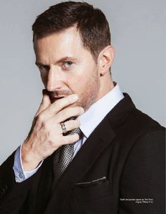 'The Maikngs of a King': Richard Armitage para DA MAN Magazine Diciembre/Enero 2015