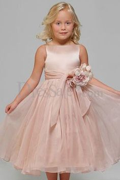 Different Pink Angle New Style Flower Girl Dresses