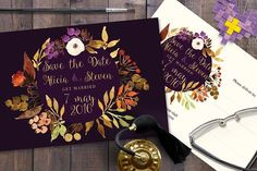 Save the Date Nr 2 by Webvilla on @creativemarket