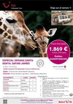 Especial Semana Santa KENYA: Safari Jambo. Precio final desde 1.869€ - http://zocotours.com/especial-semana-santa-kenya-safari-jambo-precio-final-desde-1-869e-5/