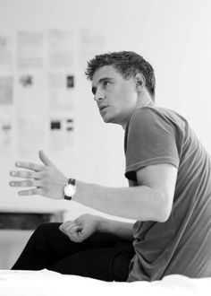 Lookin like his daddy - max irons