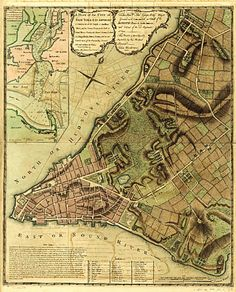 Historic Map Collection -- A plan of the city of New-York & its environs
