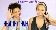 The Hair Growth Diet  Read the article here - http://www.blackhairinformation.com/growth/hair-growth/hair-growth-diet/ #hairgrowth #hairgrowthdiet
