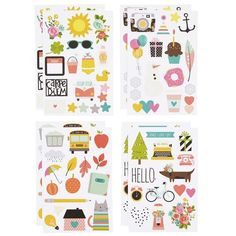 Simple Stories - Illustrated Life Stickers