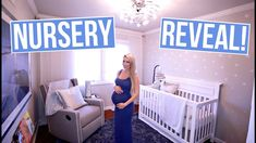 Baby's nursery is finally done! I show you the full tour with lots of budget friendly decorating ideas. Galaxy Theme, Galaxy Art, Baby Boy Nurseries, Nursery Themes, Cribs, Toddler Bed, Tours, Star, Costco