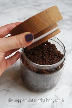 Not only does this Peppermint Mocha Body Scrub smell like a seasonal creation from Starbucks, but it also has tons of good-for-you skin benefits.