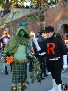 #LuccaCG16 #LuccaGold #Lucca50 #LuccaComicsAndGames #Lucca #TeamRocket #Pokemon #GottaStealEmAll #GottaCatchEmAll #Cosplay #ItalianCosplay #Bulbasaur