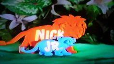 Nick Jr Hugging Logo | Blue's Clues Big Blue and Just for ... Nick Jr Lions