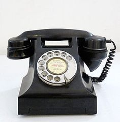 Classic Black Telephone