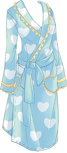 La première robe de chambre de mon tableau mode !!