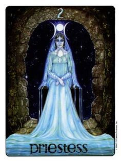August 10 Tarot Card: The High Priestess (Gill deck) This is a time to rely on your inner voice, your feelings and your intuition -- set aside time to sink into your subconscious mind