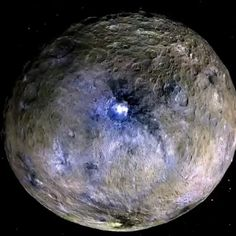 @Regrann from @nasa -  Dwarf planet Ceres is shown in these images from NASAs Dawn spacecraft that create a movie of Ceres rotating. Ceres reveals some of its well-kept secrets in two new studies in the journal Nature thanks to data from Dawn. They include highly anticipated insights about mysterious bright features found all over the dwarf planet's surface.  In one study scientists identify this bright material as a kind of salt. The second study suggests the detection of ammonia-rich clays…