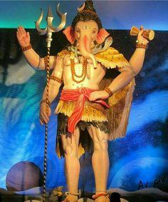 Shiv style Ganapati  Mumbai Ganesh Utsav