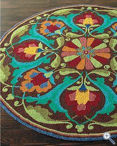 Gypsy round rug