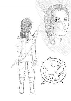 Hunger Games Fan Art / Catching Fire / Katniss / Peeta