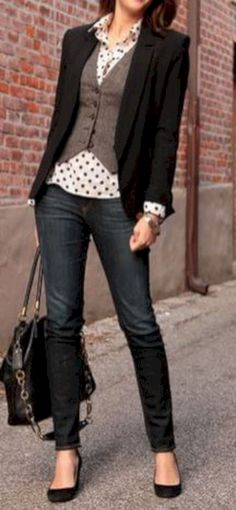 Casual work attire to get inspired (13) - Fashionetter