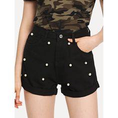 ac14c676c6a 25 Desirable shorts images | Denim outfits, Black denim shorts ...