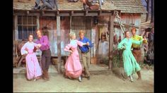 Seven Brides for Seven Brothers (1954) Barn Dance - there is some annoying static for one minute into this but then it stops. Great music, great dancing.