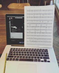 "Nothing better than a Coffee and transcription! ""Schubert's Death & The Maiden. II Andante con moto"" Geek alert! by will_lawrence22"