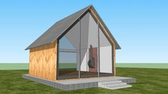 3d Warehouse, Glass House, Shed, Room Decor, Outdoor Structures, Sculpture, Traditional, Model, Arquitetura