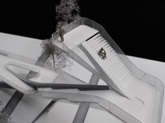 Stair model of epicness - UNStudio Observation Tower for De Onlanden