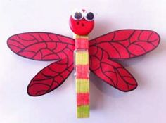 dragonfly peg magnet Magnets, Creatures, Craft Ideas, Crafts, Diy Ideas, Crafting, Handmade Crafts, Diy Crafts, Arts And Crafts