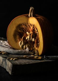 pumpkin seeds • provides relief from insomnia and anxiety, helps to improve body metabolism, reduces bone weakness and symptoms of osteoporosis, helps prevent cardiovascular diseases, promotes good health of kidneys, reduces risk of prostate cancer (info via organicfacts.net)