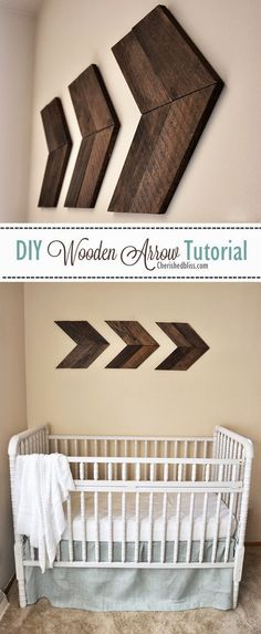 DIY Wooden Arrow Tutorial
