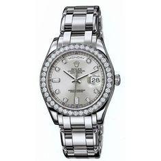 http://www.horloger-paris.com/fr/2974-rolex   Rolex Oyster Perpetual Day-Date Platine ...