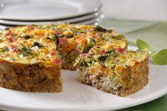 Torta de arroz e vegetais. Receita: Cinthya Maggi. Créditos da imagem: Lang