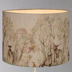 Buy Voyage Enchanted Forest Lampshade from our Ceiling & Lamp Shades range at John Lewis & Partners. Woodland Decor, Woodland Nursery Decor, Woodland Living Room, Forest Decor, Forest Theme, Cottage Living Rooms, My Living Room, Bedroom Ceiling, Bedroom Decor