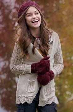 Persnickety Teen Cream Ellery Sweater