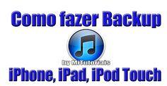 Backup iphone com iTunes