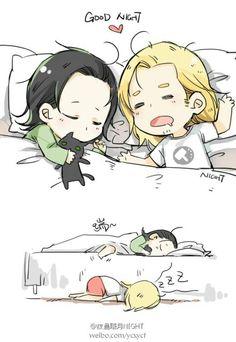 #Loki #Thor