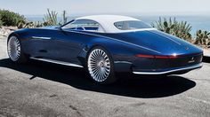 Vision Mercedes-Maybach 6 Cabriolet First Look Last year's 19-foot coupe concept loses its roof