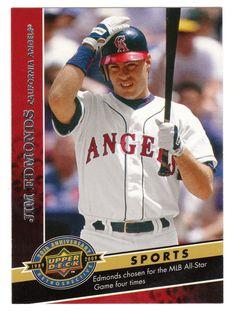 Jim Edmonds # 515 - 2009 Upper Deck 20th Anniversary Multi Sports Cards - MLB Baseball