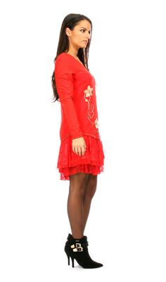 Robe MEADOW rouge