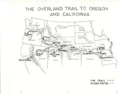 The wagons on the Oregon Trail were packed full of