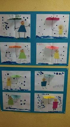 Most up-to-date Free of Charge preschool crafts weather Thoughts This web site features SO MANY Kids crafts which can be suitable for Toddler and also Tots. I believed it was time fra Water Theme Preschool, Preschool Weather, Preschool Crafts, Crafts For Kids, Children Crafts, Crafts Toddlers, Free Preschool, Kids Diy, Classe D'art
