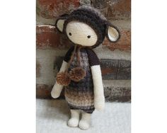 Ravelry: Project Gallery for lalylala LUPO the lamb pattern by Lydia Tresselt