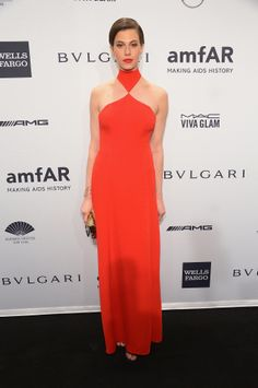 Elettra Widemann at the 2014 amfAR New York Gala