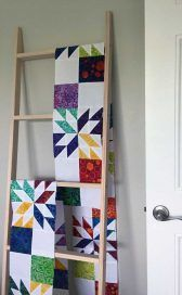 The Making of a Hunter's Star Quilt – Monday Morning Designs Star Quilt Blocks, Star Quilt Patterns, Star Quilts, Pattern Blocks, Easy Quilts, Quilting Tips, Machine Quilting, Quilting Designs, Hunters Star Quilt