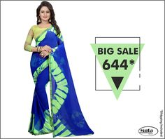 Deals you do not want to miss.Sarees on heavy discount only at www.mutafashion.com.