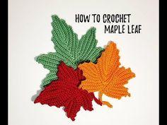 Crochet Leaf Free Pattern, Crochet Leaves, Thread Crochet, Crochet Flowers, Irish Crochet Patterns, Doilies Crochet, Doily Patterns, Dress Patterns, Knitting Patterns