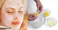 It Tightens the Skin Better Than Botox: This 3 Ingredients Face Mask Will Make You Look 10 Years Younger - Beauty Care Magazine Natural Face, Natural Skin Care, Egg White Mask, Beauty Care, Beauty Hacks, Hair Beauty, Cosmetic Treatments, Homemade Face Masks, Tips Belleza