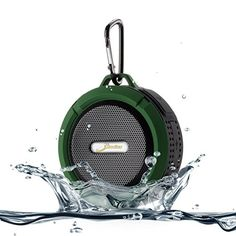[Waterproof & Dustproof] Original Elivebuy® Wireless Bluetooth 3.0 Outdoor / Shower Speaker, Handsfree Portable Speakerphone with Built-in Mic, Control Buttons and Dedicated Removable Suction Cup for Showers, Bathroom, Pool, Boat, Car, Beach, & Outdoor Use Compatible with Apple Iphone 6,6 Plus, 5s, 5, Galaxy S5, S4 S3, HTC One, Galaxy Note 3 2, Mp3 Player - Army Green Elivebuy http://www.amazon.com/dp/B00NTRFW2C/ref=cm_sw_r_pi_dp_q-5Aub1CZN8J2