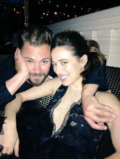 Marina & Patrick at the Monte Carlo TV Festival
