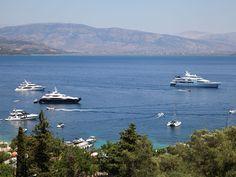 - View from Villa Agni