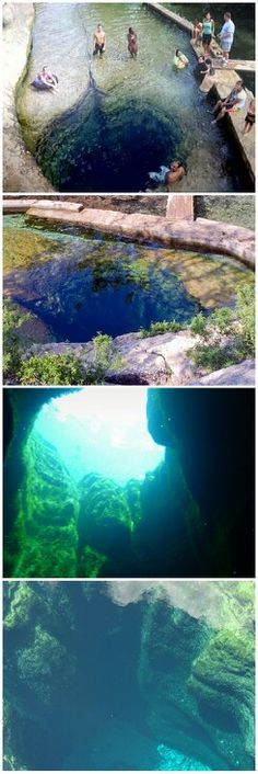 Jacob's Well near Wimberly, TX. No, I won't be jumping in! But I will go to see it!!